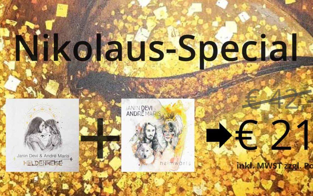 Nikolaus-Special mit persönlicher Widmung