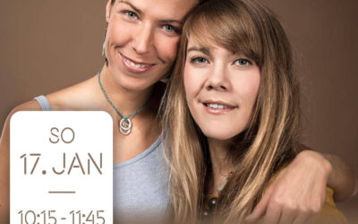 Online Yin Mantra Yoga live Stream mit Janin Devi & Dora